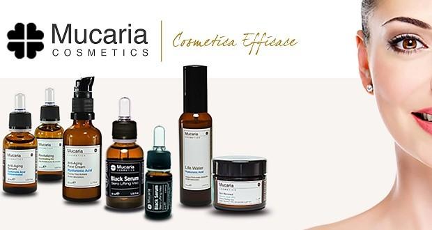 Prova la Cosmetica Efficace Mucaria!